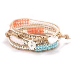 colorful wrap bracelet