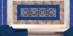 #Oro di #Vietri #Ceramica decorata a mano, #HandMade #Gold #Tiles #VietriCeramic #FrancescoDeMaio