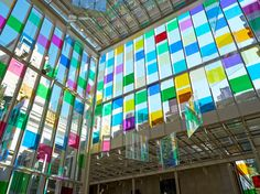 """Spencer Finch's installation """"A Certain Slant of Light,"""" at the Morgan Library & Museum, takes its title from the first line of an Emily Dickinson poem."""