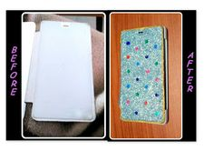 Priya's home & DIY crafts: Re-using an old mobile case