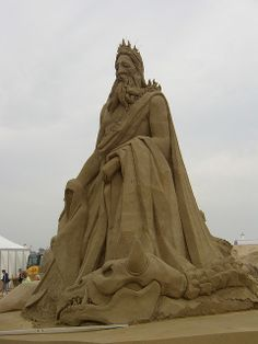 Sand sculpture, Great Yarmouth, Norfolk by i-spud, via Flickr Sand Sculptures, Sculpture Art, Great Yarmouth, Norfolk, Nature Photos, Cities, Landscapes, Scenery, England