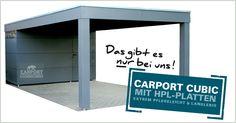Carport modern von KWP Alu Carport, Carport Garage, Terrarium, Carport Modern, Car Shed, Carport Designs, Barbacoa, Home Renovation, Pergola