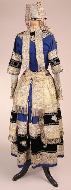costume de mariage quimper 1870