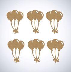 Kit balões mdf