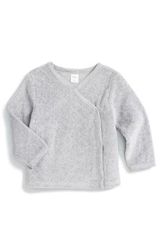 Nordstrom Baby Quilted Velour Cardigan (Baby Girls) available at #Nordstrom