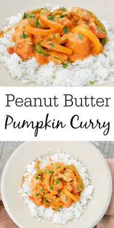This easy Peanut Butter Pumpkin Curry recipe is full of delicious fall flavors! This dinner is the comfort food that you will want to make over and over again! #mysuburbankitchen #peanutbutterpumpkincurry #savorypumpkinrecipes #pumpkin #curry Savory Pumpkin Recipes, Healthy Pumpkin, Peanut Curry, Pumpkin Curry, Easy Dinner Recipes, Delicious Recipes, Easy Recipes, Dinner Ideas, Peanut Butter Recipes