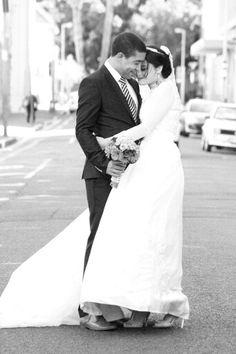 Favourite picture so far.  #blackandwhite #inlove #brideandgroom #bouquet #theburnswedding