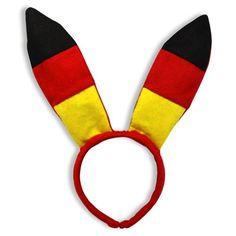 """Neue Fanartikel zur Fußball-WM 2014, wie """"50 x Bunnyohren Bunny Fussball WM EM Deutschland"""" jetzt hier kaufen: http://fussball-fanartikel.einfach-kaufen.net/schmuck-peruecken/50-x-bunnyohren-bunny-fussball-wm-em-deutschland/"""