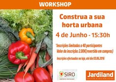 Novo Workshop Jardiland!