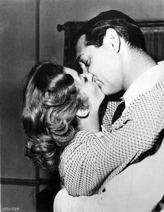 "Clark Gable and Greer Garson ""Adventure"""