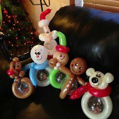 #balloon #twisting #christmas