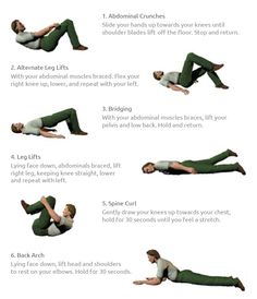 Spinal Stenosis Exercises   Spinal Surgeon   Six Quick Low Back Exercises