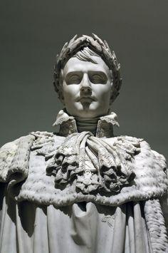 I had to reblog it - because it is just so damn wonderful.  Claude Ramey, 1754 - 1838Napoléon Ier en costume du Sacre (1813)Musée du LouvreParis I (Paris, France)
