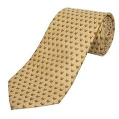 Fabulous 100% Silk Fox Tie