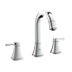 The Grohe Grandera faucet lives up to its name --modern design with traditional influences.