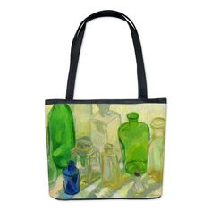 """Colored Glass #9"" design Bucket Bag/tote bag on CafePress.com by Margaret Ann Missman"
