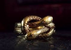 Image result for victorian snake rings