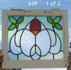 A49 Victorian   Stained Glass window