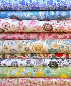 Liberty fabrics in London -one of my favourite shops. I want to ... : quilt shops london - Adamdwight.com