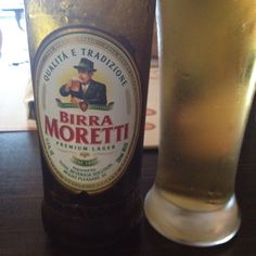 Italian beer // Grazie Gabriella Venutolo! -Birra Moretti USA