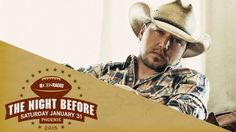 Jason Aldean in The Night Before concert.  The night before Super Bowl XLIX in Arizona