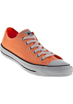 Converse Women's Chuck Taylor | Converse Women's Chuck Taylor All Star Sneakers Neon Orange Canvas ...