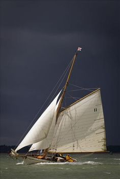 Sail World - The world's largest sailing news network; sail and sailing, cruising, boating news Classic Sailing, Classic Yachts, Sail World, Boat Stuff, Yacht Boat, Sail Away, Set Sail, Wooden Boats, Tall Ships