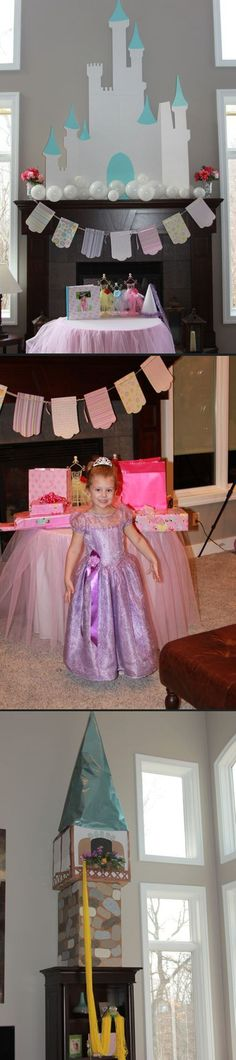 What a great little girl's princess bday party!    Morning coffee (39 photos)
