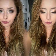 ŻANETA 😍😘 #makeup #wedding #weddingmakeup #makijaż #cienie #cieniedopowiek #kosmetyki #face #browneyes #mattlips #glowmakeup #lashes #ardell #zoeva #thebalm #polishgirl #polishwoman