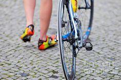 Bike race: taking a break