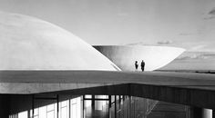"""Form follows beauty"" - Oscar Niemeyer Photo by Marcel Gautherot"