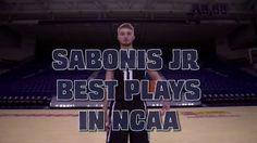 Domantas Sabonis Best Plays in NCAA