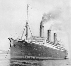 Imperator (German Passenger Liner, 1913) At anchor, circa 1913. Note her huge figurehead, which was removed early in the ship's career after being damaged in a storm. This ship served as USS Imperator in 1919