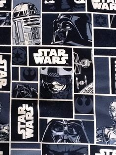 Joann Fabrics Star Wars prints... for curtains in boys' room
