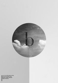 Typography • 26 letters, 26 pictures. by Denis Lefèvre, via Behance