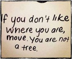 Move you are not a tree