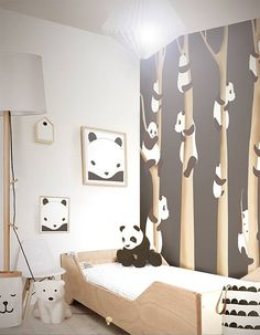 Little Hands: Little Hands Wallpaper Baby Bedroom, Nursery Room, Girls  Bedroom, Panda