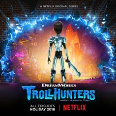 Trollhunters Netflix Animated Series Poster 2