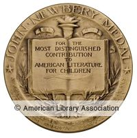 The John Newbery Medal is awarded annually by the Association for Library Service to Children, a division of the American Library Association, to the author of the most distinguished contribution to American literature for children.