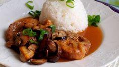 vepřové maso | Vaření s Tomem Grains, Rice, Chicken, Meat, Seeds, Korn, Cubs, Kai