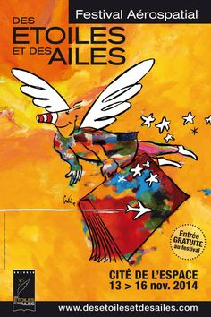 Festival Aérospacial - Des étoiles et des ailes  2014