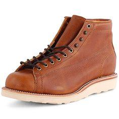 Chippewa 1901M35 Mens Leather Boots Tan - 9 UK