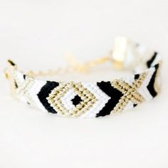A modern take on the classic friendship bracelet. Wear alone or stack with as many as you want for a custom look. All bracelets are handmade using DMC Embroidery Floss. Perfect to share with your BFF!