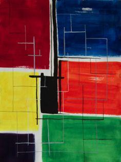 "'Civilization' by Shruti Chander | $250 | 15""w x 20""h | Original Art | http://www.arttwo50.com/buy/art/civilization"
