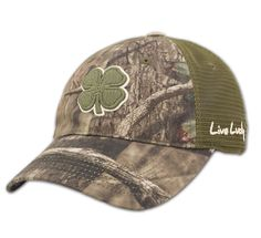 Hunt Lucky 6. Live LuckyHunting HatCamo HatsSports ... 143f814f1675
