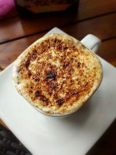 A perfect companion for your cloudy afternoon - Crème brûlée cappucinno