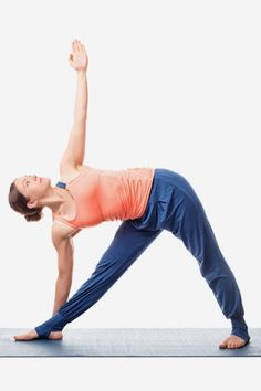 Yoga For Weight Loss - Trikonasana