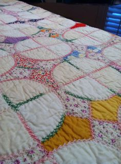 snowball or arkansas snowflake quilt 20s or 30s