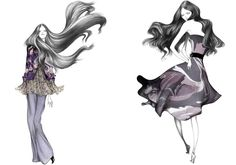Laura  Laine  FASHION ILLUSTRATION