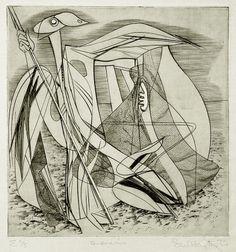 Stanley William Hayter, Sousmarine (Undersea), 1937
